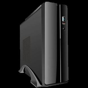 CiT S003B Black Slim micro-ATX/ITX Case Desktop