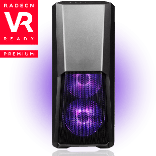 CK - AMD Ryzen, RX 580 Quad Core Gaming PC