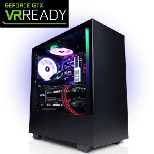 CK - Intel i5, Infinity Pro 6 Core Gaming PC