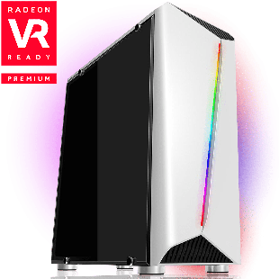 CK - AMD Ryzen, 6 Core, Radeon RX 570 Gaming PC