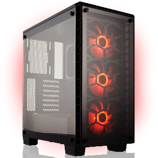 CK - AMD Ryzen 3,GeForce GTX 1070 Ti Quad Core Gaming PC