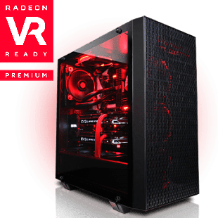 CK - Ryzen 3, Quad Core Radeon RX Gaming PC