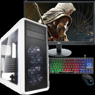 Brand New Intel core i9-9th Gen/16GB RAM/2TB SSD/500GB HDD/GeForce RTX 3080 10GB/Screen Size 32-inch & Speakers (Full Set Gaming Pc)