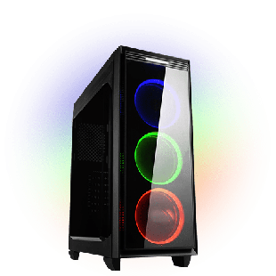 CK - Intel Quad Core, GTX 1050 Ti Gaming PC