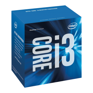 Intel Core I3-6100 CPU, 1151, 3.7 GHz, Dual Core, 47W, 14nm, 3MB Cache, HD GFX, 8 GT/s, Sky Lake