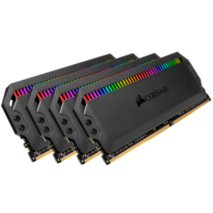 Corsair Dominator Platinum RGB 32GB Kit (4 x 8GB), DDR4, 3600MHz (PC4-25600), CL16, XMP 2.0, DIMM Memory
