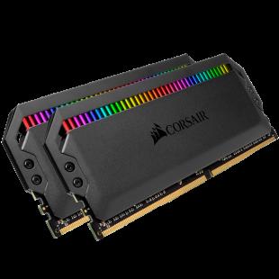 Corsair Dominator Platinum RGB 16GB Kit (2 x 8GB), DDR4, 3000MHz (PC4-24000), CL15, XMP 2.0, DIMM Memory