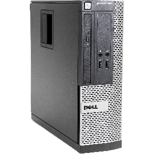 Refurbished Dell Optiplex 390 Core i3-2120 3.10GHz, 16GB RAM, 1TB HDD, DVD-RW  [SFF] HDMI , A
