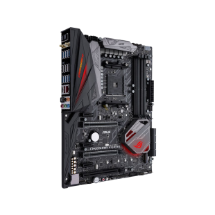 Asus ROG CROSSHAIR VI EXTREME, AMD X370, AM4, EATX, 4 DDR4, XFire/SLI, Wi-Fi, M.2 Heatsink, RGB Lighting