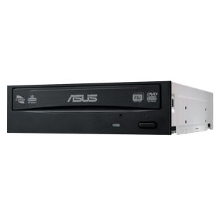 Asus (DRW-24D5MT) DVD Re-Writer, SATA, 24x, M-Disk Support, OEM - Black