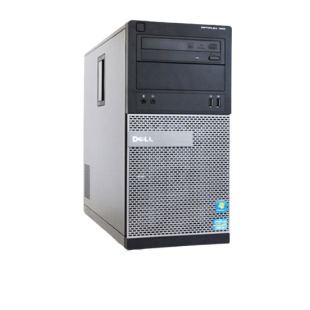 Refurbished Dell Optiplex 390 Mini Tower/i3-2100/4GB RAM/500GB HDD/DVD-RW/Windows 10/B