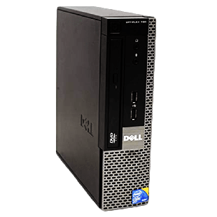 Refurbished Dell Optiplex 780 USFF Intel Core2 Duo E8400, 4GB RAM, 500GB HDD, B