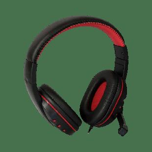 Dynamode DH-878 Headset, Adjustable Boom Mic, Inline Volume Control, 3.5mm Jack, Retail