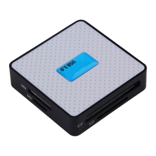 Dynamode (USB3-CR-6P) External Multi Card Reader, USB 3.0, 6 Slot, USB Powered
