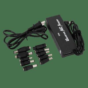 Universal 90W Laptop PSU, 15-24V, 8 Adapters, Auto Select