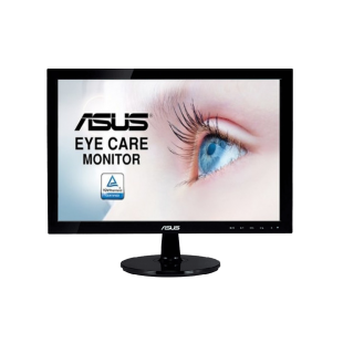 "Asus 24"" Frameless Eye Care IPS Monitor (VZ249HE), 1920 x 1080, 5ms, Ultra-slim, VGA, HDMI"