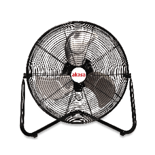 "Akasa (UrFAN S8) USB Powered 8"" Mini Desk Fan, 2 Speed, 360° Tilt"