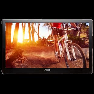 Brand New AOC I1659FWUX 15.6-inch Widescreen IPS LED Glossy USB Monitor-Black(1920x1080/5ms/USB)