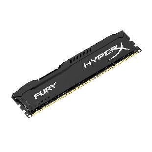 HyperX Fury Black 4GB DDR3 1600MHz (PC3-12800) CL10 DIMM Memory