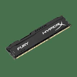 HyperX Fury Black 8GB DDR3 1600MHz (PC3-12800) CL10 DIMM Memory