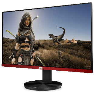 Brand New AOC G2790PX 27-inch Widescreen TN LED Multimedia Monitor-Black/Red (1920x1080/1ms/VGA/HDMI/DisplayPort)