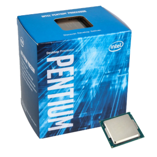 Intel Pentium G4400 CPU, 1151 3.3 GHz, Dual Core, 47W, 14nm, 3MB Cache, HD GFX, 8 GT/s, Sky Lake
