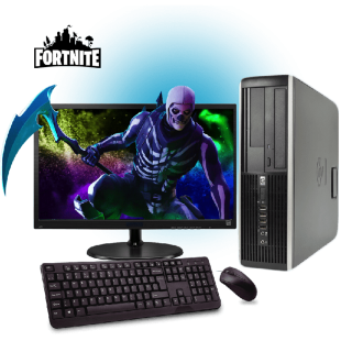 Refurb - Fast Quad Core 8GB RAM, 240GB SSD Full Set Gaming PC, B