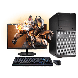 Refurb Dell i5 Gaming Computer Full Set