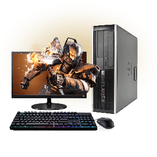 Refurb -  CK Quad Core 4GB RAM,500GB HDD Full Set Gaming PC, B