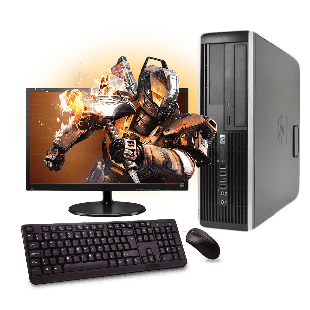 Refurb CK HP Elite 8200 Slim Full Set Gaming PC