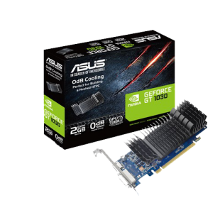 Asus GeForce GT1030, 2GB DDR5, PCIe3, DVI, HDMI, 1506 MHz, Silent, Low Profile (Bracket Included)