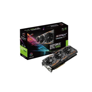 Asus GTX1060 STRIX OC, 6GB DDR5, DVI, 2 HDMI, 2 DP, RGB Lighting, 1873 MHz, Overclocked