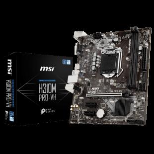 Asrock H310M-HDV, Intel H310, 1151, Micro ATX, DDR4, VGA, DVI, HDMI