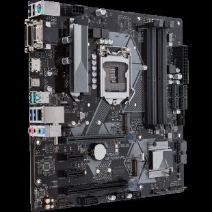 Asus PRIME H370M-PLUS, Intel H370, 1151, Micro ATX, DDR4, VGA, DVI, HDMI, XFire, Dual M.2