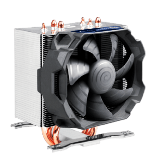 Arctic Freezer 12 CO Compact Semi Passive Heatsink & Fan for Continuous Operation, Intel & AM4 Sockets, Dual Ball Bearing