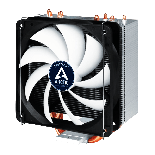Arctic Freezer 33, Intel & AM4 Sockets, Fluid Dynamic Bearing, Semi Passive Heatsink & Fan - Black & White