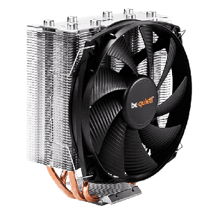 Be Quiet! BK010 Shadow Rock Slim, Intel & AMD Sockets, Silent Wings Heatsink & Fan - Black