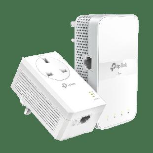 Brand New TP-LINK (TL-WPA7617 KIT) AC1200 Wireless Dual Band Powerline Adapter Kit/ AV2 1000/ AC Pass Through/ 1-Port