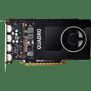 HP Quadro NVIDIA P2200 5GB GDDR5X 4DP GFX PCIe 3.0