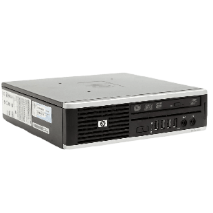 Refurbished HP Compaq Elite 8000 Core 2 Duo E8400 3GHz DVD USDT USFF, B