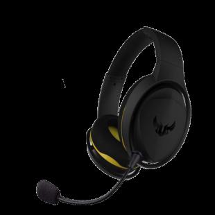 Asus TUF Gaming H5 7.1 Gaming Headset, 3.5mm Jack (USB Adapter), Boom Mic, Virtual Surround, Stainless-Steel