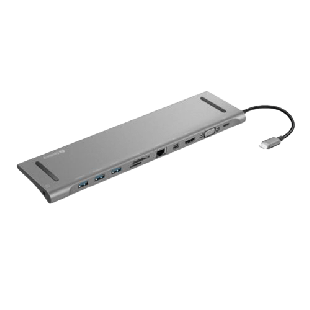 Sandberg (136-23) USB-C All-in-1 Docking Station/3 x USB-A,Mini Display Port/Micro SD/TF Card Slot/87W Charging via USB-C