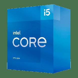 Intel Core i5-11400 CPU, 1200, 2.6 GHz (4.4 Turbo), 6-Core, 65W, 14nm, 12MB Cache, Rocket Lake