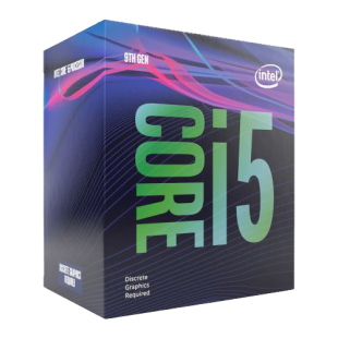 Intel Core i5-9400F CPU, 1151, 2.9 GHz (4.1 Turbo), 6-Core, 65W, 14nm, 9MB Cache, Coffee Lake Refresh *NO GRAPHICS*