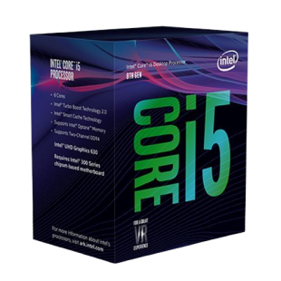 Intel Core i5-9500 CPU, 1151, 3.0 GHz (4.4 Turbo), 6-Core, 65W, 14nm, 9MB Cache, UHD GFX, Coffee Lake