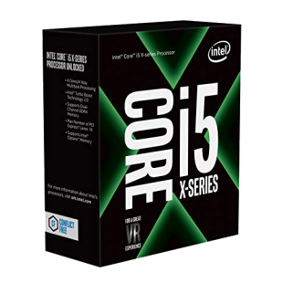 Intel Core I5-7640X CPU, 2066, 4.0GHz (4.2 Turbo), Quad Core, 112W, 6MB Cache, Overclockable, No Graphics, Sky Lake, NO HEATSINK/FAN