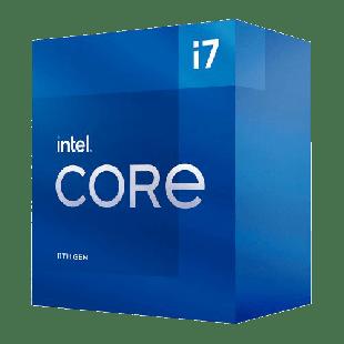 Intel Core i7-11700 CPU, 1200, 2.5 GHz (4.9 Turbo), 8-Core, 65W, 14nm, 16MB Cache, Rocket Lake
