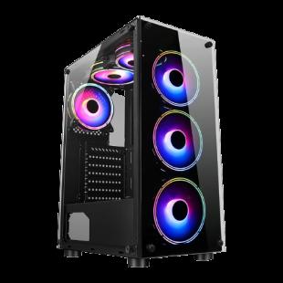 CK - AMD Ryzen 3 2200G/8GB RAM/1TB HDD/120GB SSD/GTX 1050 Ti 4GB/Gaming Pc