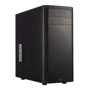 Fractal Design Core 2500 Mid Tower Gaming Case, ATX, Brushed Aluminium-look, Fan Controller, 2 Fans