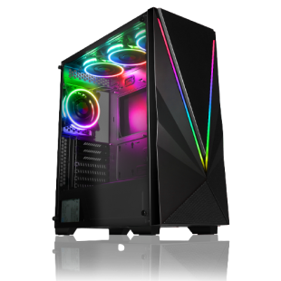 CK - AMD Ryzen 5 3600X/16GB RAM/1TB HDD/120GB SSD/RTX 2060 6GB/Gaming Pc